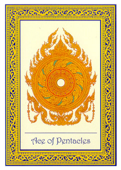 Ace of pentacles meaning spiritual journey / Rhea coin