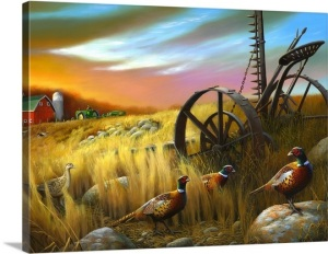 Image Source: www.greatbigcanvas.com/view/pheasants-i,116
